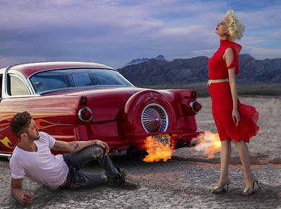 Las Vegas Model Shoot