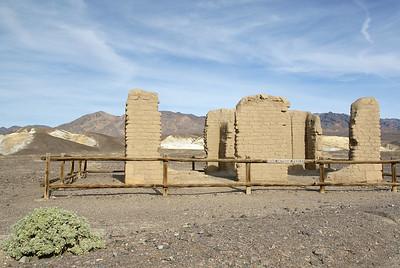 Ruins from the Harmony Borax Works.