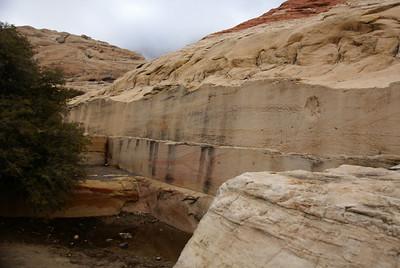 Remnants of quarrying limestone.