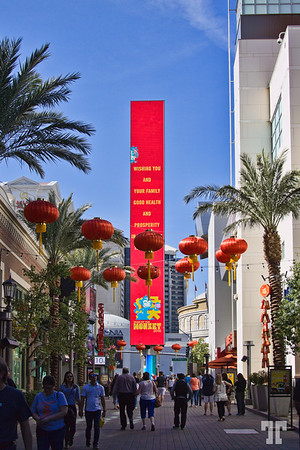 Wishing You and Your Family Good Health and Prosperity in the Year of the Monkey 2016 - Linq Promenade, Las Vegas