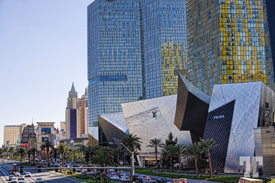City Center buildings on Las Vegas Strip