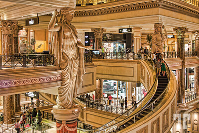 Forums Shops, Caesars Palace, Vegas  (ZZ)