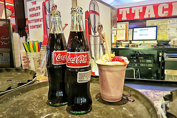 The world's highest butterfat content milk shakes