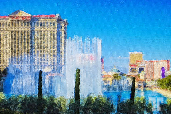 bellagio-lake-fountains-strip-daytime-painting-FAA
