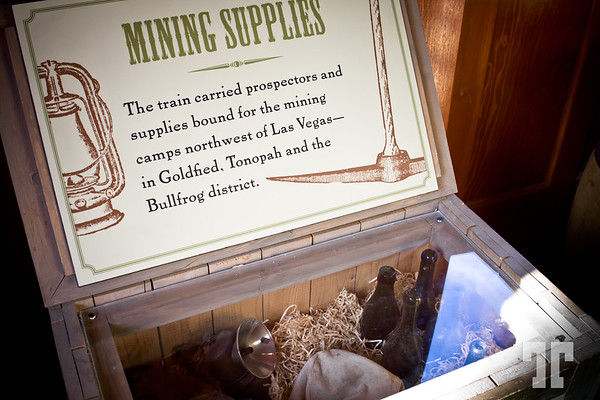 Nevada State Museum Las Vegas Mining supplies