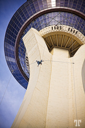 Stratosphere tower jumper