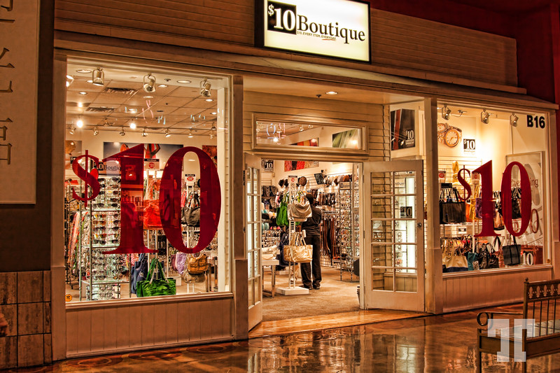 10$ Boutique inside the Stratosphere Tower, Las Vegas