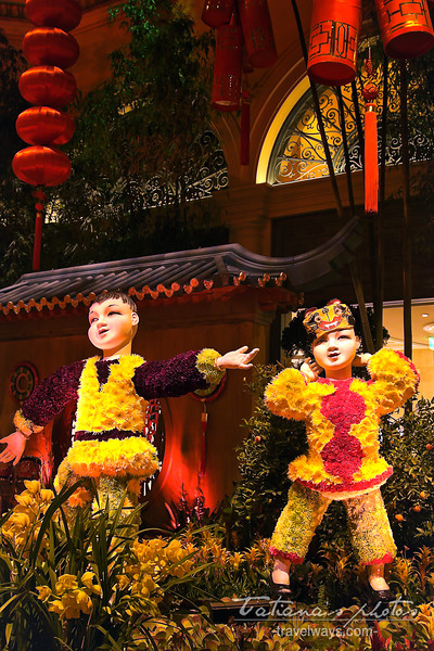 Celebrating the  Chinese New Year of the horse in Las Vegas