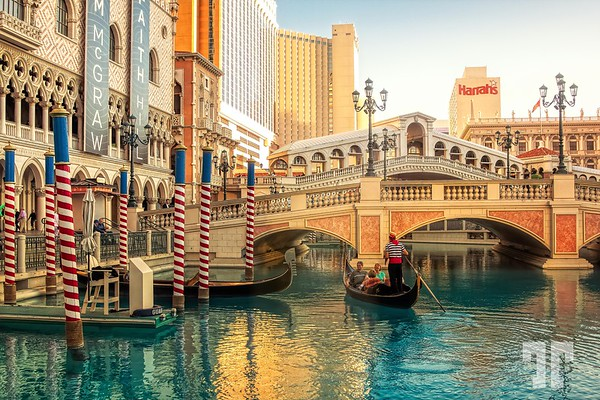 Gondola Ride at Venetian Las Vegas