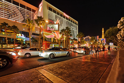 """Nothing stands still for very long on the Las Vegas Strip"", unless you're trying to navigate it in a vehicle."