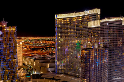 The Aria from the 58th Floor of the Cosmopolitan.