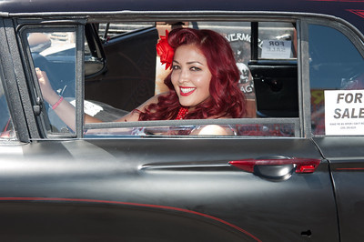 Rockabilly Car Show at the Orleans Casino, LV.  I think that the people are far more interesting than the cars. - 2014