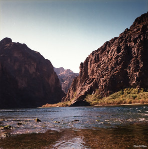 Colorado River below the Hoover Dam at Willow Beach, AZ