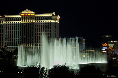 Caesar's Palace - viewed from the Bellagio