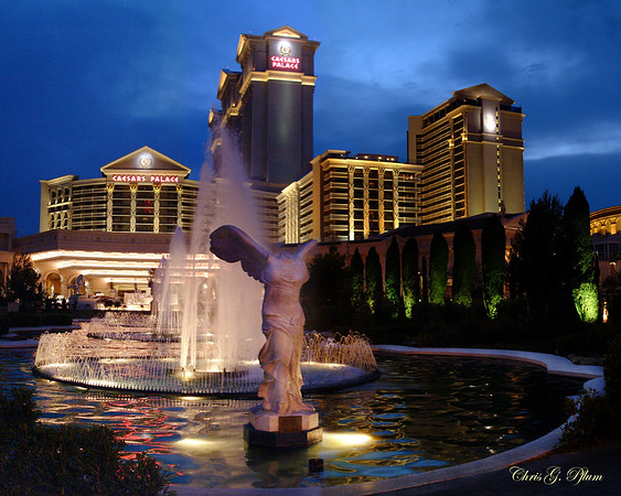 Caesar's Palace - at dusk