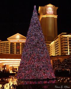 Caesar's Palace - Christmas 2005