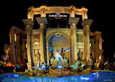 Caesar's Palace - A new addidtion to Caesar's Forum shopping mall