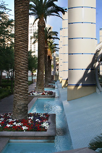 Bally's waterfall walkway
