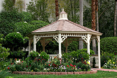 The gazebo at Flamingo.