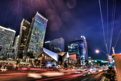 Las Vegas City Center night shot 2.