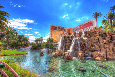 Mirage Waterfalls, Las Vegas