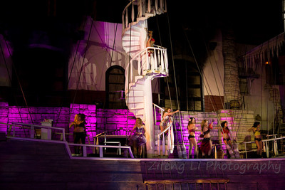 Sirens show at Treasure Island