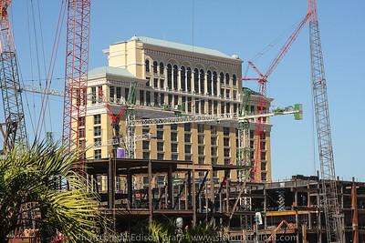 Center Center Las Vegas - Construction