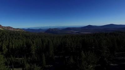 3-Lassen Peak in the morning Sun