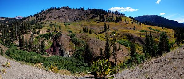 7 Valley in Lassen Peak NP_Panorama
