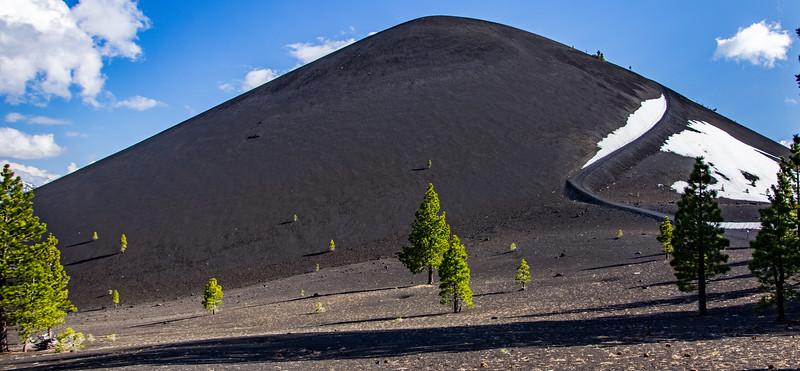 Cinder Cone Volcano, Lassen National Park