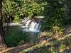 Hot Springs Creek cascade