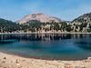 Mt Lassen and Lake Helen