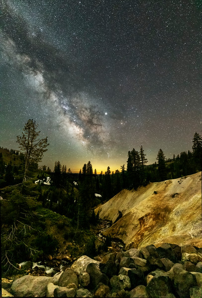 Milky Way at the Sulphur Works