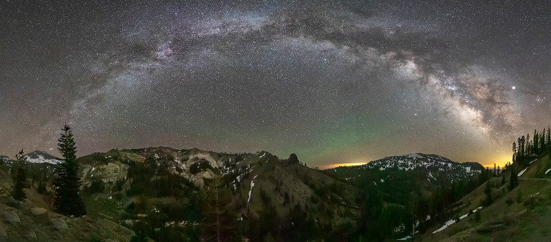 Milky Way Arch Over Lassen