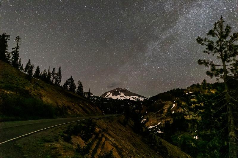 Mt. Lassen Under the Stars
