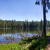 Summit Lake, Lassen Volcanic National Park, California