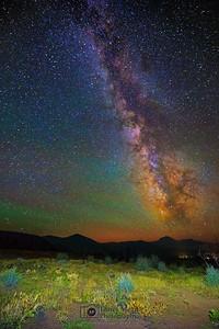 """""""Sky Full of Stars,"""" Lassen Volcanic National Park, California"""