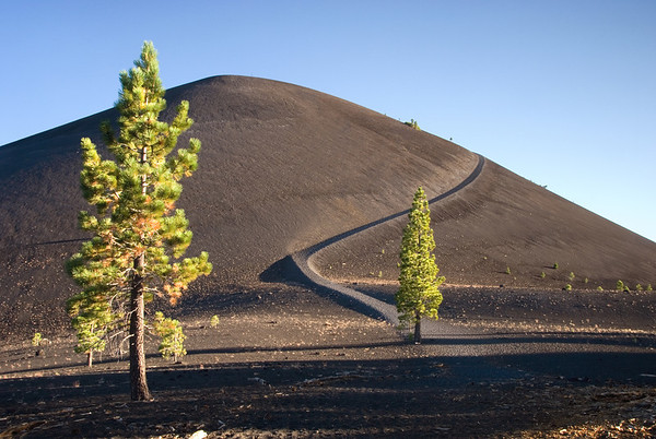 Cinder Cone at Sunset