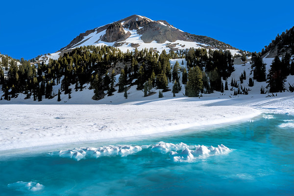 Mid-June Morning at Lake Helen, Lassen Volcanic National Park, CA