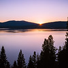 Sunset Over Lake Almanor