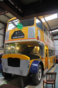 Lastbus Works Canteen RVW394D Last Bus Works Canteen New Pitsligo 4 Oct 17