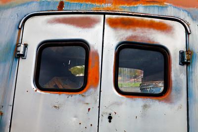 Panel Truck Rear Door Detail_8419