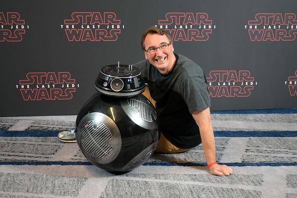 Last Jedi Press Event