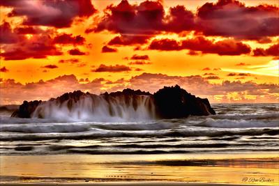 Fire On The Ocean