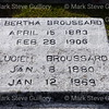 Broussard Cemetery, New Iberia, La 012817 016 Broussard