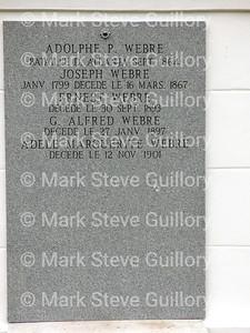 St James Catholic Church Cemetery, St James, La 012817 048 Webre