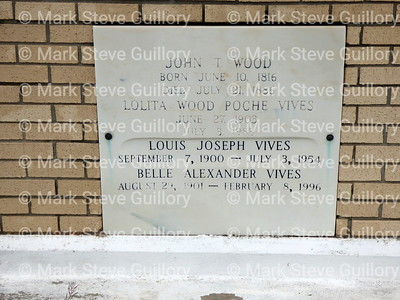 St James Catholic Church Cemetery, St James, La 012817 038 Wood Poche Vives