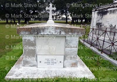 St James Catholic Church Cemetery, St James, La 012817 040 Himel Poche