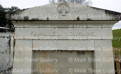 St James Catholic Church Cemetery, St James, La 012817 053 DuParc