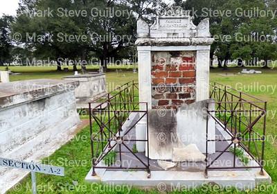 St James Catholic Church Cemetery, St James, La 012817 043 Cantrelle